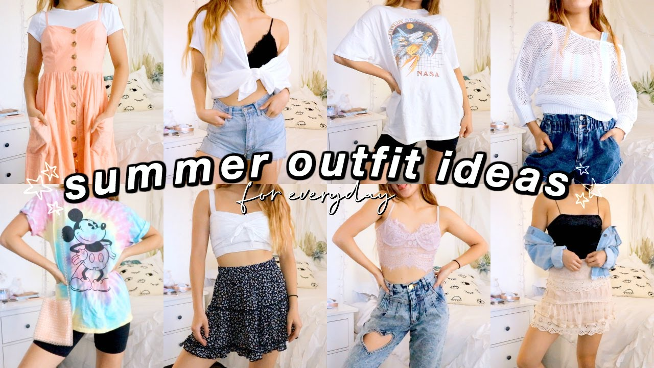 [VIDEO] - summer outfits for when you have NOTHING to wear 2