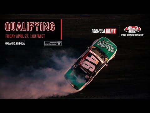 Formula Drift Orlando - Qualifying LIVE!