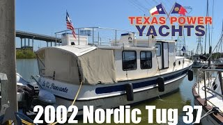 2002 Nordic Tug Trawler Yacht for sale at Texas Power Yachts