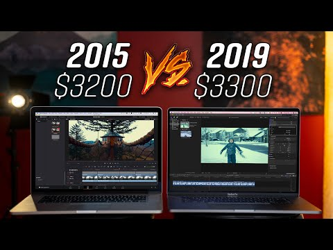 """2015 Vs 2019 16"""" MacBook Pro Video Editing! Can An OLD Mac Compete?"""