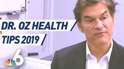 EXTENDED - Dr. Oz Talks Sleep, Medical Marijuana, High Blood Pressure, & Health Tips for 2019