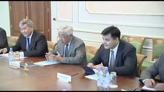 Состоялась встреча Главы МИД РК Е.Идрисова с Генсеком Международного бюро выставок В.Лоссерталесом
