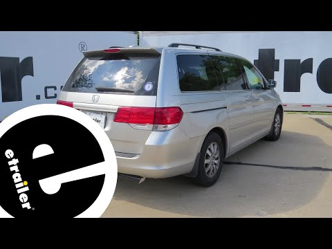 etrailer | Trailer Brake Controller Installation - 2008 Honda Odyssey