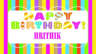 Hrithik Wishes & Mensajes - Happy Birthday
