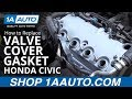 How to Replace Install Valve Cover Gasket Set 2003 Honda Civic
