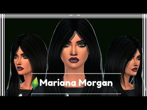 Mariana Morgan ¦¦ The Sims 4 CAS