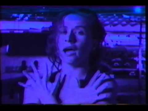 """""""Holding Onto The Earth"""" by Sam Phillips  (Music Video from The Indescribable Wow 1989)"""