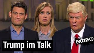 Kurz vor US-Wahl: Donald Trump zu Besuch