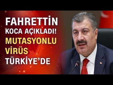 Son dakika! Bakan Koca Türkiye'deki mutasyonlu vaka sayısını açıkladı!