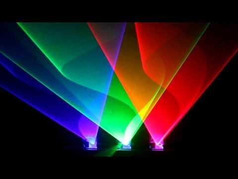 deadmau5 - Let Go on the Laser Box Music Laser Light Show