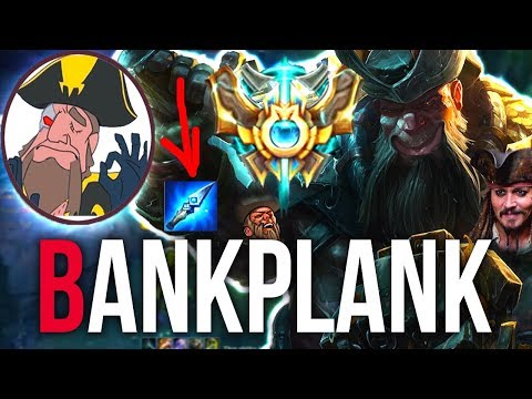 Tobias Fate - I AM A CHALLENGER! Best Runes For GANGPLANK *BANKPLANK* | League of Legends