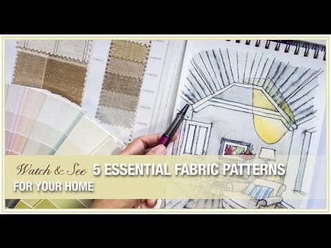 Amitha's guide to choosing fabric patterns for curtains, sofas, chairs and more!