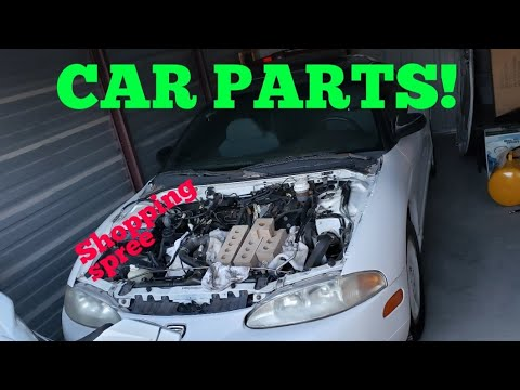 Project Talon Toobad:  A clean engine bay and more car parts.