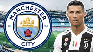 Man City To Make A STUNNING Move For Cristiano Ronaldo? | Man City Transfer Update