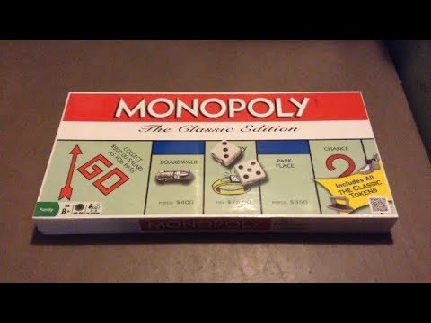 The Classic Edition Monopoly
