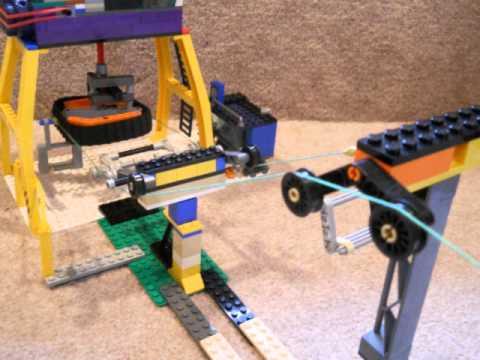lego chairlift youtube rh youtube com JC Toy Ski Lift Sets LEGO Ski Lift Model