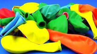 Игра в Прятки Воздушные Шарики найди Сюрприз Игрушки Hide and Seek Air Balloons Surprise Eggs Toys