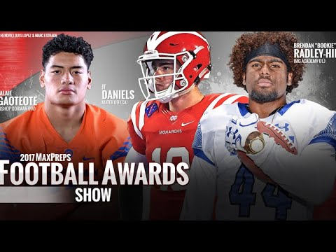 2017 High School Football Awards Show