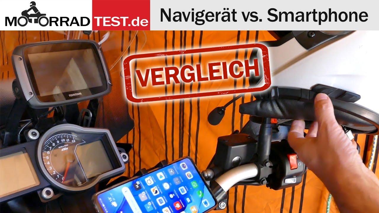 Navigieren auf dem Motorrad | Navi oder Smartphone? Mit oder ohne Intercom-Headset?