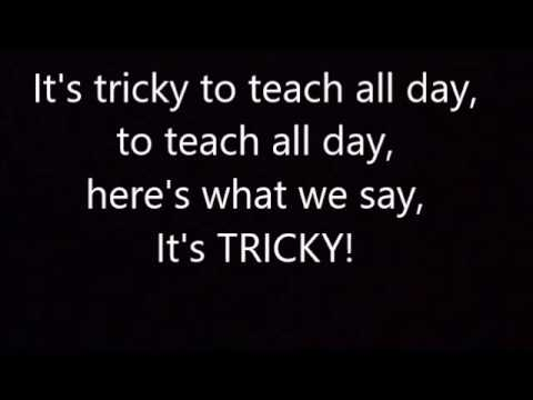 (karaoke version)- It's Tricky by Run DMC- teacher remix
