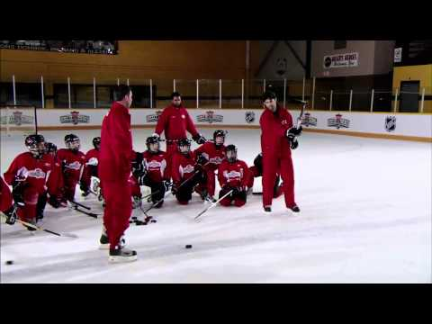 NHL Skills: Slapshot From Canadian Tire Hockey School