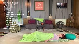 """Deine Yin-Yoga Stunde """"Beginner"""" zum mitmachen."""
