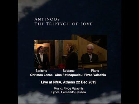 Antinoos, Pessoa - Soprano: Gina Fotinopoulou, Baritono: Chris Lazos