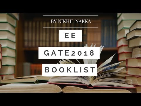 Books for GATE [EE] Electrical Engineering | Nikhil Nakka