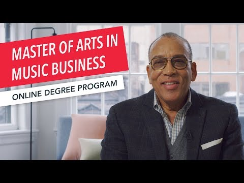 Master of Arts in Music Business | Program Overview | Berklee Online | Graduate Degree