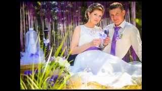 Фиолетовая свадьба. Идеи для свадебной фотосессии.
