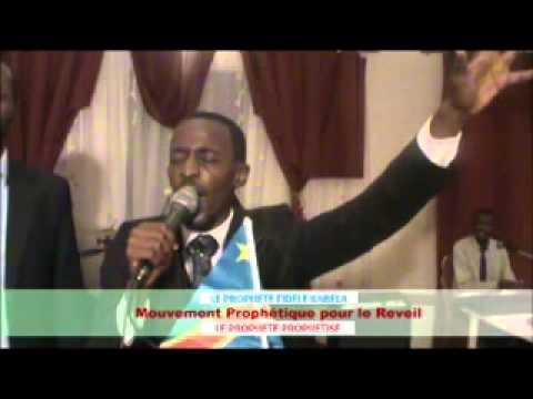 Le prophete prophetise PART1 avec le prophete fidele kabela du Mouvement Prophetique pour le Reveil