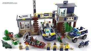 Lego City Swamp Police Station Review! Set 60069