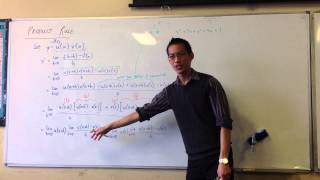 Proving Product Rule