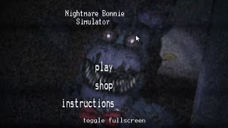 Nightmare Bonnie Simulator - Битва Кошмаров