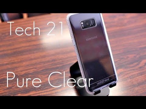 best service 68908 e8350 Crystal Clear Protection! - Tech21 Pure Clear Case - Samsung S8 / S8+ -  Review
