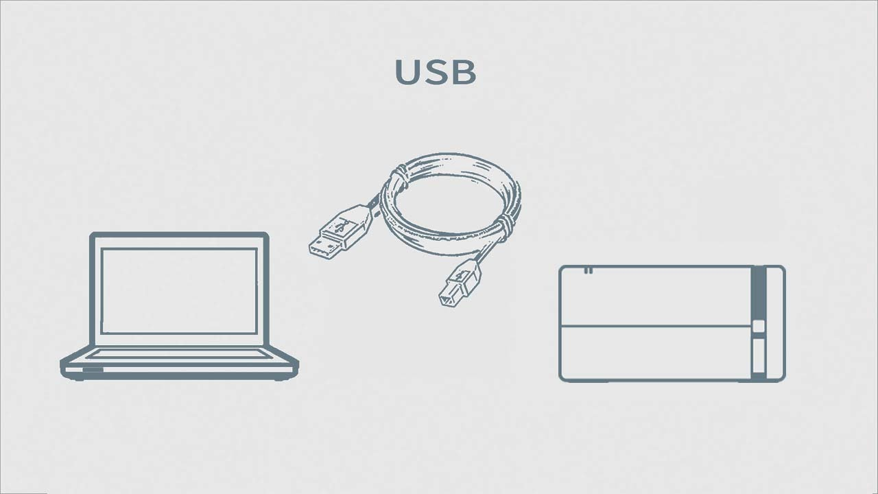 How to Connect a Printer and a Personal Computer Using USB
