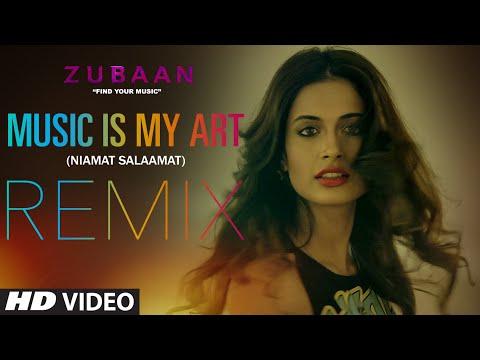MUSIC IS MY ART (REMIX) Video Song | ZUBAAN | Vicky Kaushal, Sarah Jane Dias | T-SERIES
