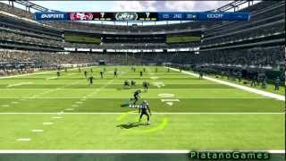 NFL 2012 Week 4 - San Francisco 49ers vs New York Jets - 1st Half - Madden NFL