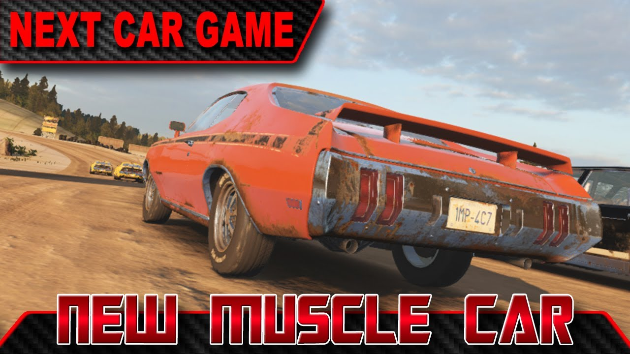 Next Car Game New Muscle Car Sandpit Alpha Race Cars