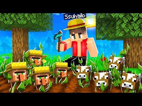 ماين كرافت ولكن يمكنك زراعة الحيوانات!😱 (قروي رهيب!)🔥 - Farm Mobs