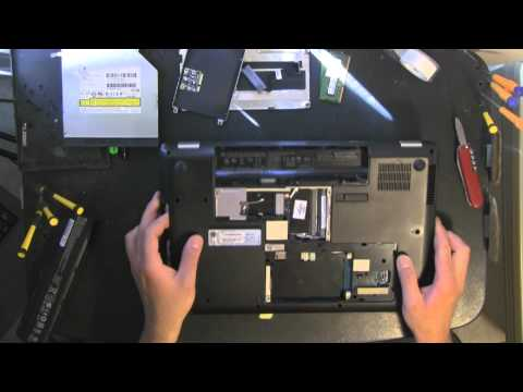 COMPAQ CQ56 Take Apart Video, Disassemble, How To Open Disassembly