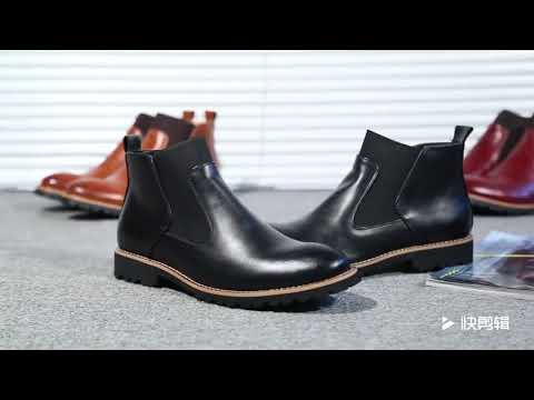 2018 Mens Casual Martin Boots