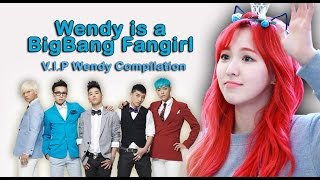 Red velvet's wendy is a bigbang fangirl (a compilation)