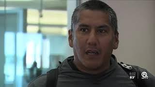 PBIA travelers react to Gov. DeSantis saying New York travelers will be screened