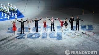 Сборная России по фигурному катанию - чемпион Олимпийских игр!