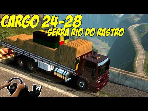 CARGO 24-28 NA SERRA RIO DO RASTRO - EURO TRUCK SIMULATOR 2 - G27!!!
