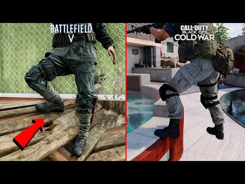 Battlefield 5 vs Call of Duty: Cold War  Attention to Detail Comparison
