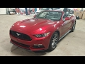 2016 FORD MUSTANG CONVERTIBLE ECOBOOST
