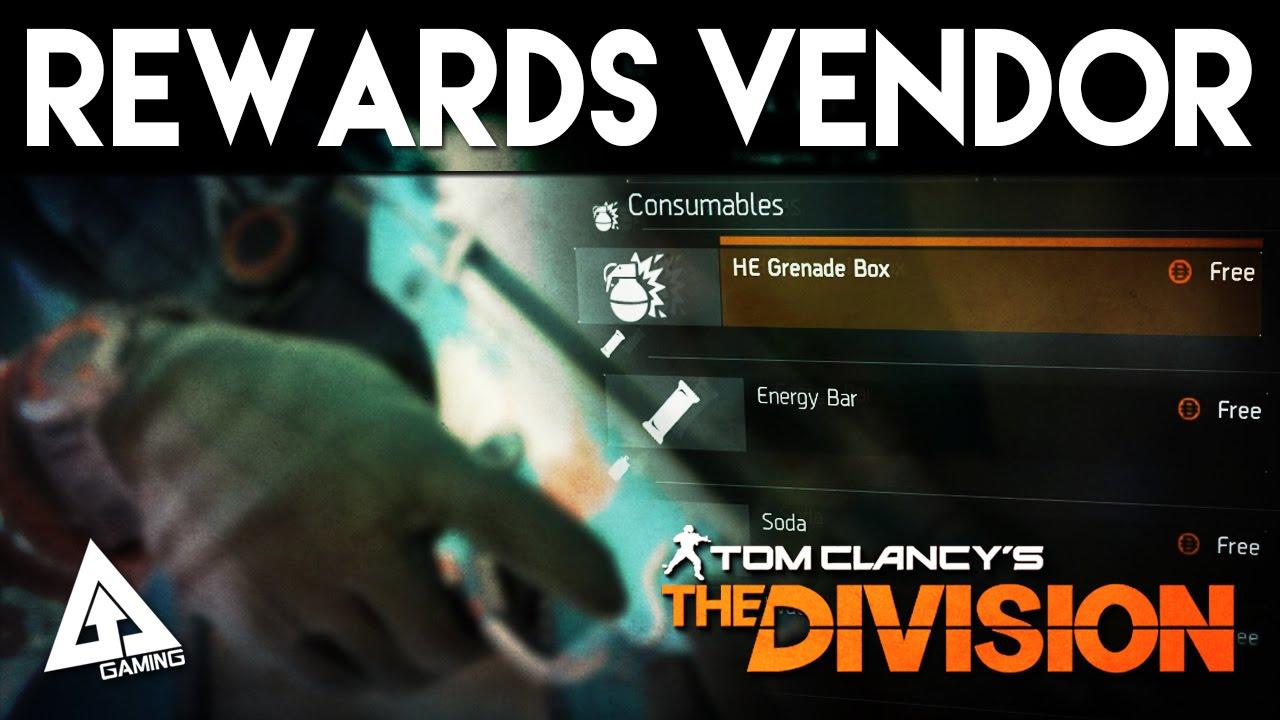 The Division Rewards Claim Vendor Location & Where To Collect DLC Items