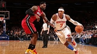 Phantom: LeBron James Versus Carmelo Anthony